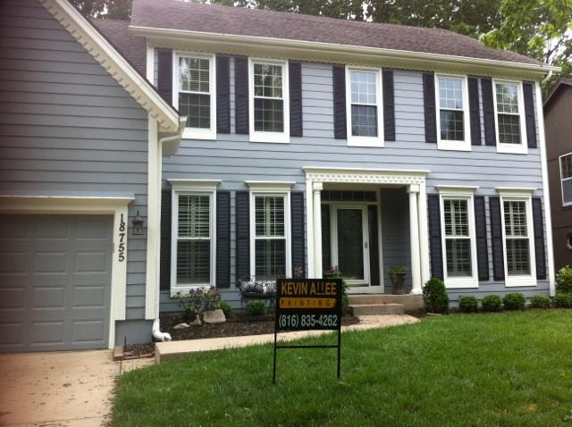 Kevin Allee Painting | Residential Exterior Painting | Kansas City